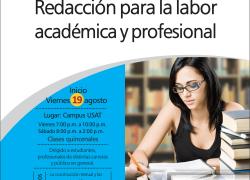 Diplomado: Redacción para la labor académica y profesional