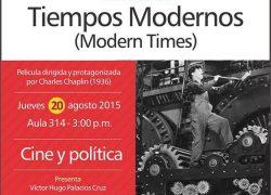 Cineforum: Tiempos modernos
