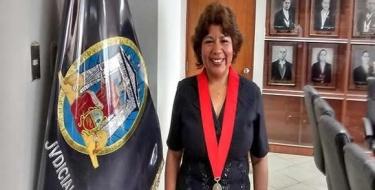 Profesora USAT es elegida Presidenta de la Corte Superior de Justicia de Lambayeque