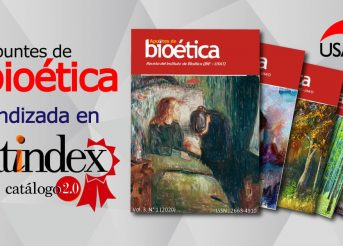 La revista Apuntes de Bioética USAT es indizada en Latindex 2.0