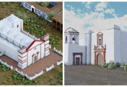 Equipo de Arquitectura USAT reconstruye virtualmente a Zaña con tecnología 3D