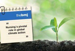 Docente de la Escuela de Enfermería USAT publica artículo sobre cambio climático
