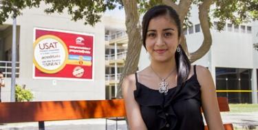 Estudiante USAT becaria de la Alianza del Pacífico
