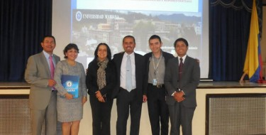Profesores USAT participan en investigación binacional en Colombia
