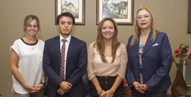 USAT recibe representantes de Embajada de Canadá