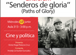 "Cineforum: ""Senderos de gloria"""