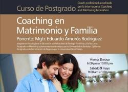 Curso de Postgrado: Coaching en Matrimonio y Familia
