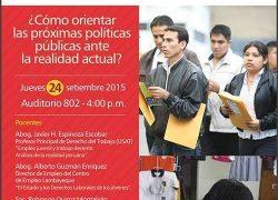 Coloquio: Los jóvenes y derechos laborales
