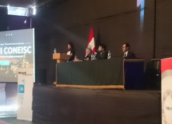 Profesor USAT participó en Congreso Nacional