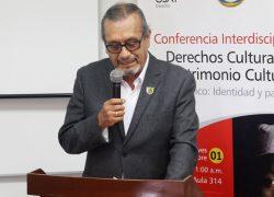 ICUSAT realiza conferencias sobre patrimonio y derechos culturales
