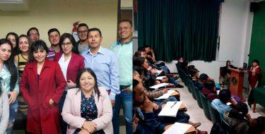 Docente de la Facultad de Empresariales USAT presenta conferencias sobre NIIF en el Perú