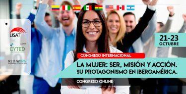 La USAT y Red WINN Perú organizan Congreso Internacional sobre el Protagonismo de la mujer en Iberoamérica