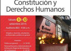 Curso: Constitución y Derechos Humanos