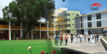 USAT firma importante convenio con Colegio Algarrobos