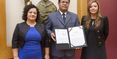 Convenio con la Universidad de Jaén de España
