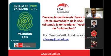 Coordinador ambiental USAT es ponente en conferencia organizada por el Colegio de Ingenieros de Lambayeque