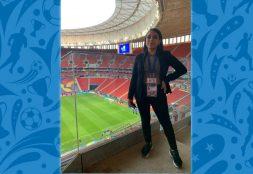 Estudiante de Comunicación USAT  trabaja como productora  principal de Direct TV Sports Perú para la Copa América Brasil 2021