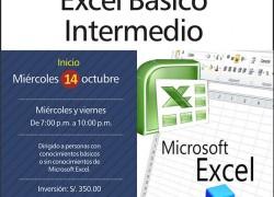 Curso de Excel Básico Intermedio