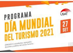 USAT organiza conferencia internacional 'Por el Día Mundial del Turismo 2021: Turismo para un crecimiento inclusivo'