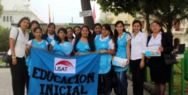 Educación USAT celebra el día de los Jardines de la Infancia en el Perú