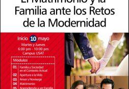 Diplomado. El Matrimonio y la Familia ante los Retos de la Modernidad