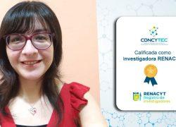 Investigadora de la Escuela de Psicología USAT se incorpora al Renacyt