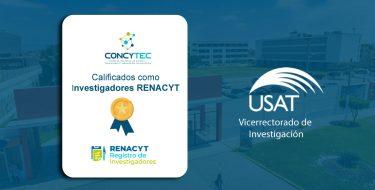 La USAT cuenta con nuevos 'Investigadores Renacyt'