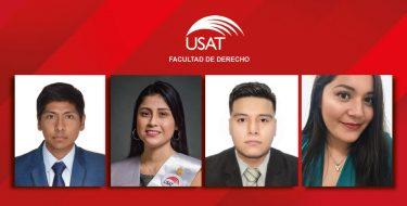 Egresados de la Facultad de Derecho obtienen plazas en instituciones del Estado
