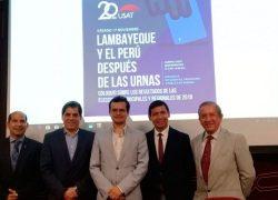 USAT realiza coloquio sobre las Elecciones Municipales y Regionales de 2018