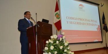 """USAT presente en I Encuentro Macro Regional Norte """"Experiencias y Retos del Código Procesal Penal"""""""