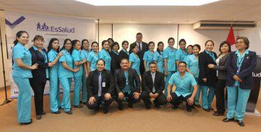 Egresadas de Enfermería USAT  pertenecen a primera promoción en residentado de EsSalud