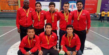 Selección de Futsal Varones USAT ocupa 1er lugar en XI Juegos Universitarios Regionales 2017