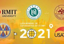 Equipo USAT entre los cinco mejores de la Liga Mundial de Estudiantes de la OMT 2021