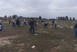 Estudiantes de Ing. Civil Ambiental comprometidos con el medio ambiente.