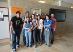 Estudiantes de la escuela de Administración en el extranjero