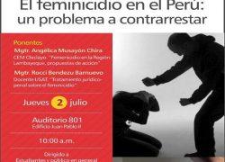 """Coloquio """"El feminicidio en el Perú"""""""