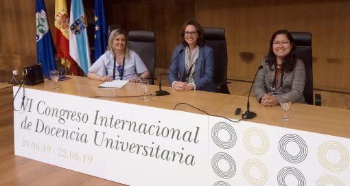 Docente USAT participó como ponente en el Congreso Internacional de Docencia Universitaria (CINDU) – España