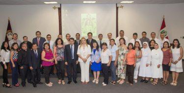 USAT firma convenio con Instituciones Educativas Públicas y Privadas de Lambayeque