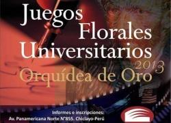 ICUSAT lanza Juegos Florales Universitarios 2013