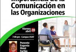 Charla Informativa: Importancia de la Comunicación en las Organizaciones