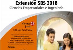 Charla Informativa. XIX Programa de Extensión SBS 2018
