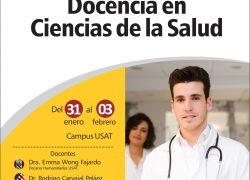 Curso Internacional. Docencia en Ciencias de la Salud