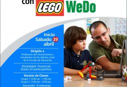 Curso. Robótica Educativa con Lego WeDo