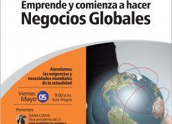 Conferencia. Emprende y Comienza a hacer Negocios Globales