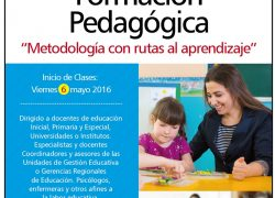 Diplomado en Formación Pedagógica