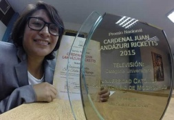 Nuevo premio nacional en Periodismo para Comunicación USAT