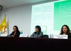 Docente USAT es ponente en XII Congreso Internacional de Lingüística