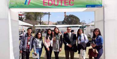Docentes y estudiantes USAT participaron en el XXII Congreso Internacional EDUTEC 2019