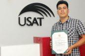 Congreso de la República condecora a estudiante USAT por defensa ambiental en Chaparrí