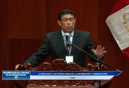 Docente de la Facultad de Derecho USAT participó en el Encuentro Nacional sobre Oralidad en Materia Civil